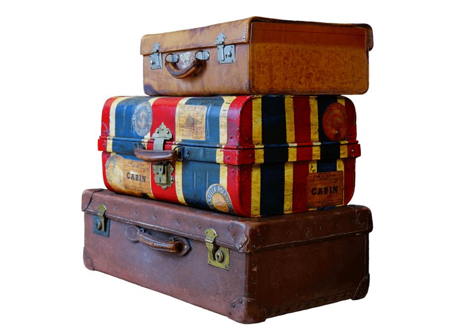 Ondernemers met koffers